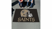 Fan Mats 5774  NFL - New Orleans Saints 5' x 8' Ulti-Mat Area Rug / Mat