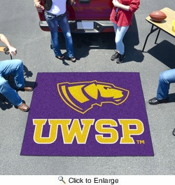 Fan Mats 578  UWSP - University of Wisconsin Stevens Point Pointers 5' x 6' Tailgater Mat / Area Rug