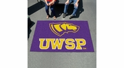 Fan Mats 579  UWSP - University of Wisconsin Stevens Point Pointers 5' x 8' Ulti-Mat Area Rug / Mat