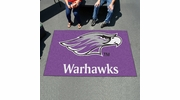 Fan Mats 583  UW-W - University of Wisconsin Whitewater Warhawks 5' x 8' Ulti-Mat Area Rug / Mat