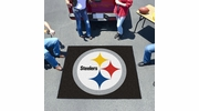 Fan Mats 5830  NFL - Pittsburgh Steelers 5' x 6' Tailgater Mat / Area Rug
