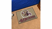 "Fan Mats 5836  NFL - San Francisco 49ers 19"" x 30"" Starter Series Area Rug / Mat"