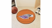 "Fan Mats 585  UW-W - University of Wisconsin Whitewater Warhawks 27"" Diameter Basketball Shaped Area Rug"