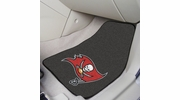 "Fan Mats 5855  NFL - Tampa Bay Buccaneers 17"" x 27"" Carpeted Car Mat Set"