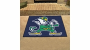 "Fan Mats 6034  ND - University of Notre Dame Fighting Irish 33.75"" x 42.5"" All-Star Series Area Rug / Mat"