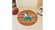 "Fan Mats 6036  ND - University of Notre Dame Fighting Irish 27"" Diameter Basketball Shaped Area Rug"
