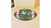 "Fan Mats 6039  ND - University of Notre Dame Fighting Irish 20.5"" x 32.5"" Football Shaped Area Rug"