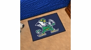 "Fan Mats 6040  ND - University of Notre Dame Fighting Irish 19"" x 30"" Starter Series Area Rug / Mat"