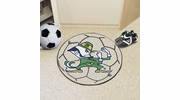 "Fan Mats 6064  ND - University of Notre Dame Fighting Irish 27"" Diameter Soccer Ball Shaped Area Rug"