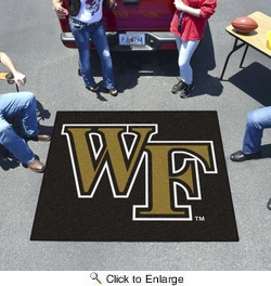 Fan Mats 623  Wake Forest University Demon Deacons 5' x 6' Tailgater Mat / Area Rug