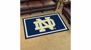 Fan Mats 6273  ND - University of Notre Dame Fighting Irish 4' x 6' Area Rug