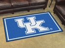 Fan Mats 6287  UK - University of Kentucky Wildcats 4' x 6' Area Rug