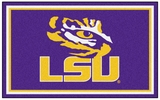 Fan Mats 6290  LSU - Louisiana State University Tigers 4' x 6' Area Rug