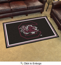 Fan Mats 6303  USC - University of South Carolina Gamecocks 4' x 6' Area Rug