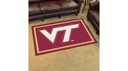 Fan Mats 6316  VT - Virginia Tech Hokies 4' x 6' Area Rug