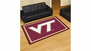 Fan Mats 6317  VT - Virginia Tech Hokies 5' x 8' Area Rug