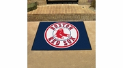 "Fan Mats 6331  MLB - Boston Red Sox 33.75"" x 42.5"" All-Star Series Area Rug / Mat"