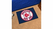 "Fan Mats 6335  MLB - Boston Red Sox 19"" x 30"" Starter Series Area Rug / Mat"