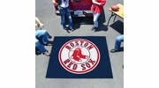 Fan Mats 6336  MLB - Boston Red Sox 5' x 6' Tailgater Mat / Area Rug