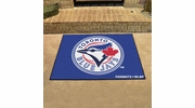 "Fan Mats 6356  MLB - Toronto Blue Jays 33.75"" x 42.5"" All-Star Series Area Rug / Mat"