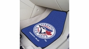 "Fan Mats 6360  MLB - Toronto Blue Jays 17"" x 27"" Carpeted Car Mat Set"