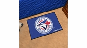 "Fan Mats 6363  MLB - Toronto Blue Jays 19"" x 30"" Starter Series Area Rug / Mat"