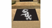 "Fan Mats 6364  MLB - Chicago White Sox 33.75"" x 42.5"" All-Star Series Area Rug / Mat"