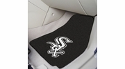 "Fan Mats 6366  MLB - Chicago White Sox 17"" x 27"" Carpeted Car Mat Set"