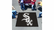 Fan Mats 6368  MLB - Chicago White Sox 5' x 6' Tailgater Mat / Area Rug