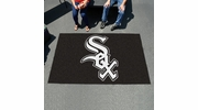 Fan Mats 6369  MLB - Chicago White Sox 5' x 8' Ulti-Mat Area Rug / Mat