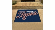 "Fan Mats 6378  MLB - Detroit Tigers 33.75"" x 42.5"" All-Star Series Area Rug / Mat"