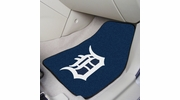 "Fan Mats 6379  MLB - Detroit Tigers 17"" x 27"" Carpeted Car Mat Set"