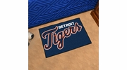 "Fan Mats 6382  MLB - Detroit Tigers 19"" x 30"" Starter Series Area Rug / Mat"