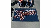Fan Mats 6383  MLB - Detroit Tigers 5' x 8' Ulti-Mat Area Rug / Mat