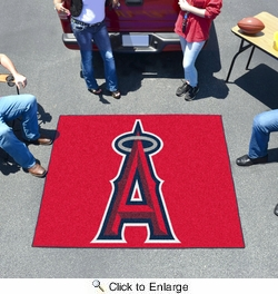 Fan Mats 6405  MLB - Los Angeles Angels 5' x 6' Tailgater Mat / Area Rug