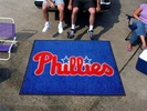 Fan Mats 6454  MLB - Philadelphia Phillies 5' x 6' Tailgater Mat / Area Rug