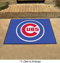 "Fan Mats 6464  MLB - Chicago Cubs 33.75"" x 42.5"" All-Star Series Area Rug / Mat"