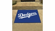 "Fan Mats 6523  MLB - Los Angeles Dodgers 33.75"" x 42.5"" All-Star Series Area Rug / Mat"