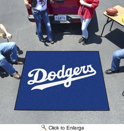 Fan Mats 6525  MLB - Los Angeles Dodgers 5' x 6' Tailgater Mat / Area Rug
