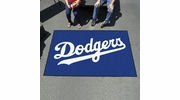 Fan Mats 6528  MLB - Los Angeles Dodgers 5' x 8' Ulti-Mat Area Rug / Mat