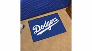 "Fan Mats 6529  MLB - Los Angeles Dodgers 19"" x 30"" Starter Series Area Rug / Mat"