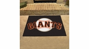 "Fan Mats 6538  MLB - San Francisco Giants 33.75"" x 42.5"" All-Star Series Area Rug / Mat"