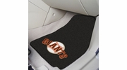 "Fan Mats 6540  MLB - San Francisco Giants 17"" x 27"" Carpeted Car Mat Set"