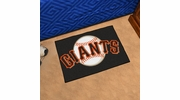 "Fan Mats 6548  MLB - San Francisco Giants 19"" x 30"" Starter Series Area Rug / Mat"