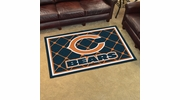 Fan Mats 6567  NFL - Chicago Bears 4' x 6' Area Rug