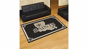 Fan Mats 6591  NFL - New Orleans Saints 5' x 8' Area Rug