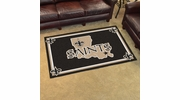 Fan Mats 6592  NFL - New Orleans Saints 4' x 6' Area Rug