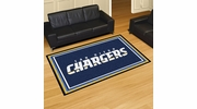 Fan Mats 6601  NFL - San Diego Chargers 5' x 8' Area Rug