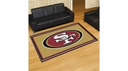 Fan Mats 6603  NFL - San Francisco 49ers 5' x 8' Area Rug