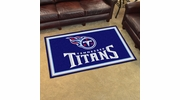 Fan Mats 6611  NFL - Tennessee Titans 4' x 6' Area Rug